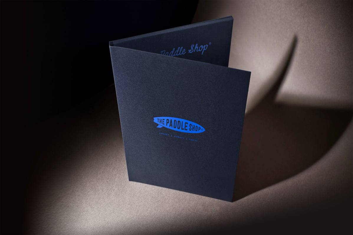 impression-dorure-a-chaud-gaufrage- letterpress-papier-de-creation-Blue1310-agence-de-communication-branding-annecy-paris