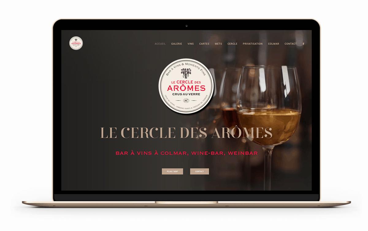 Blue1310 Annecy, Paris - Le Cercle des Arômes, création de marque d'un bar à vins d'exception à Colmar