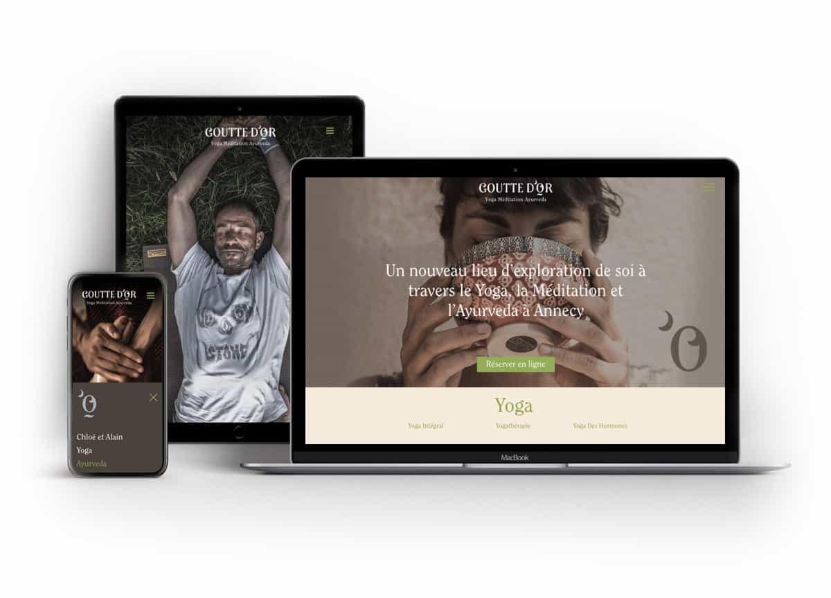 Création de site internet, webdesign. BLUE1310 agence de communication web marketing digital à Annecy