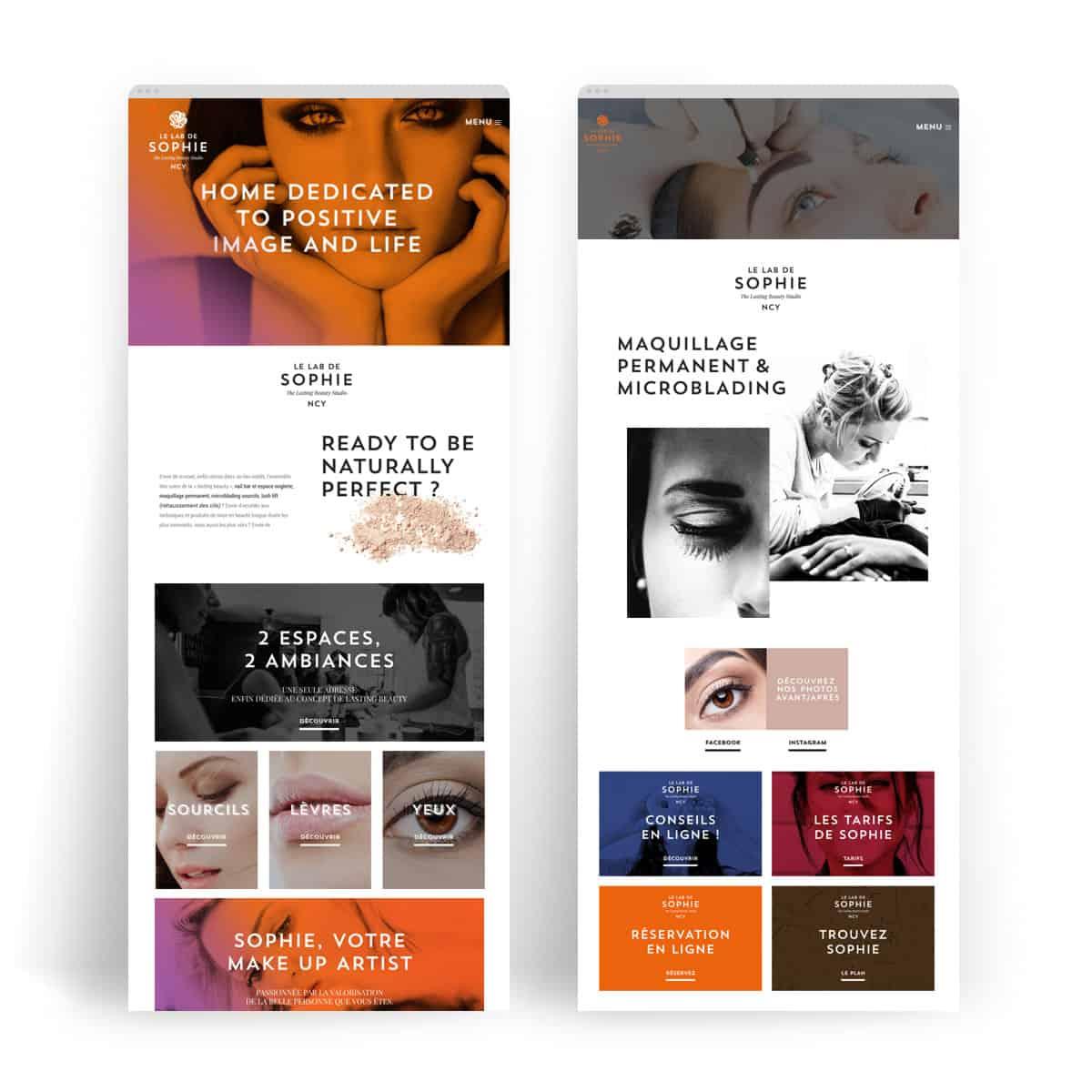 Création de site, webdesign, graphiste. BLUE1310 agence de communication web marketing digital à Annecy